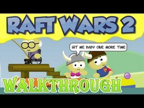 Raft Wars 2 Walkthrough [full game]