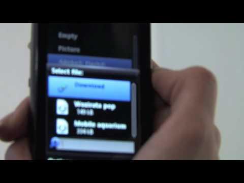 Sony Ericsson Vivaz & Vivaz Pro - HD Video & UI