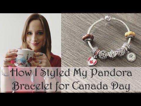 How I Styled My Pandora Bracelet | Canada Day Style Inspiration