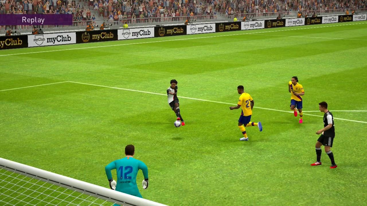 PES 2020   Barcelona VS Juventus 1-1   Game Play HD - YouTube