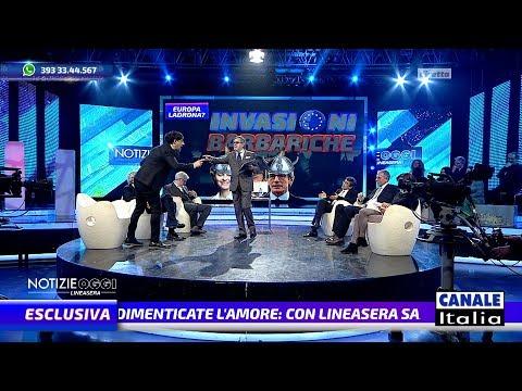 Gustinicchi perde la pazienza IN DIRETTA TV | Notizie Oggi Lineasera