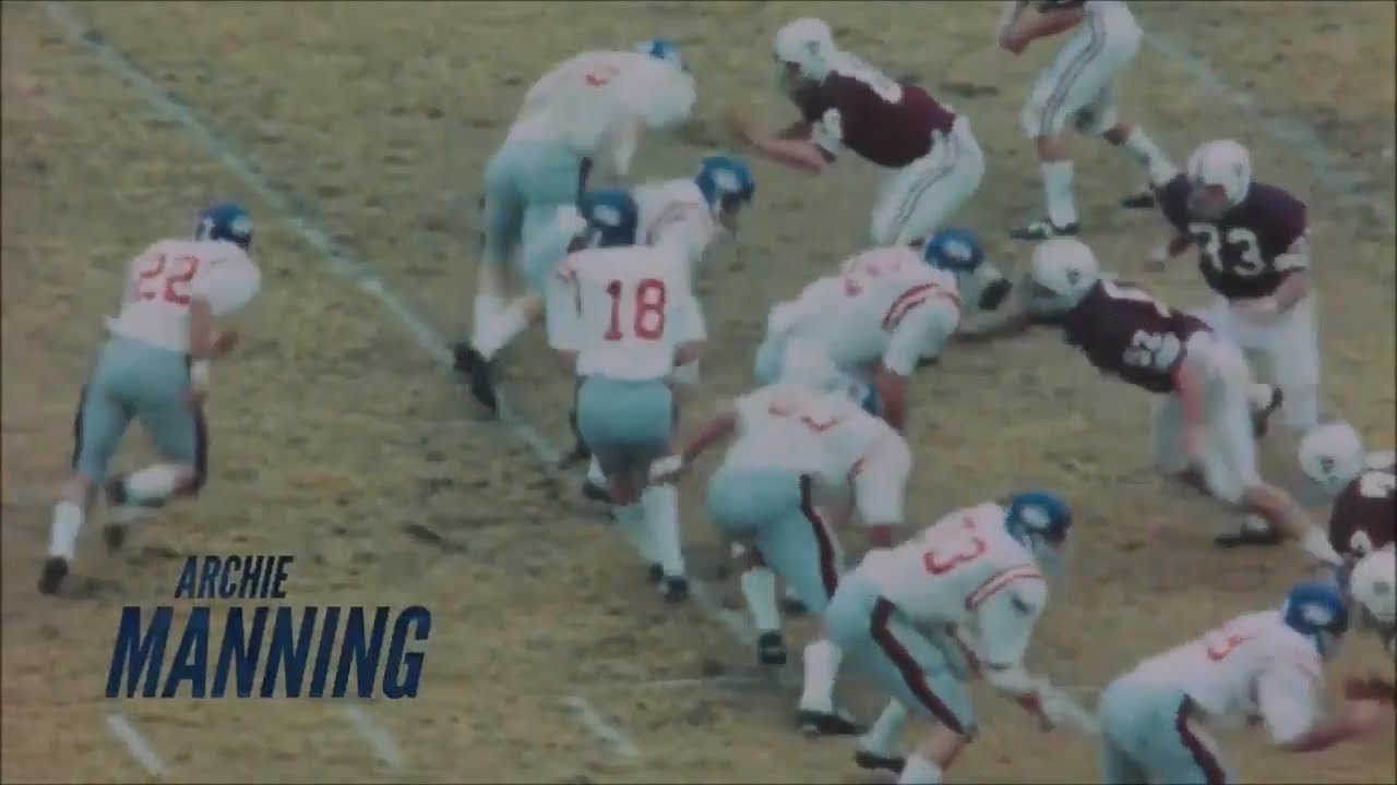 new style 005cd bbefa Archie Manning Ole Miss Highlights