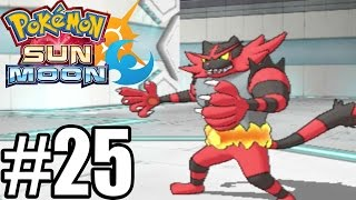 Pokemon Sun and Moon Gameplay Walkthrough Part 25 [ 3DS ]