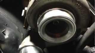 holset he351ve vgt turbo on a mercedes benz om606 diesel