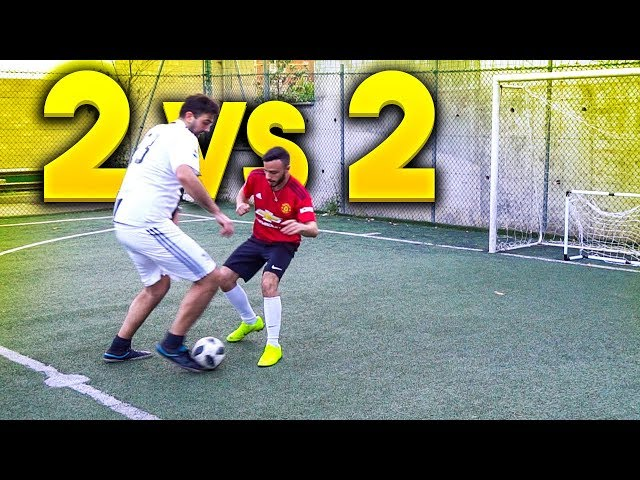 ⚽️ 2 vs 2 FOOTBALL CHALLENGE! w/Fius Gamer, Ohm & Enry Lazza