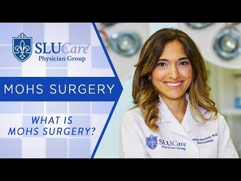 What is Mohs Surgery? - SLUCare Mohs Surgery - YouTube