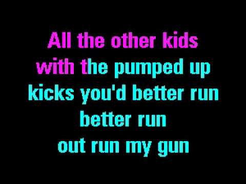 Pumped up Kicks - Foster the People I Karaoke Version