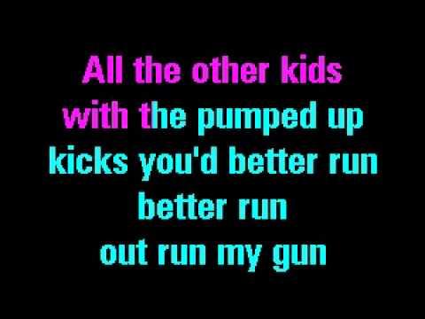 Pumped up Kicks - Foster the People I Karaoke Version