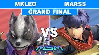MSM 176 - Echo FOX | MKLeo (Wolf) Vs. Marss (Ike) Grand Finals - Smash Ultimate