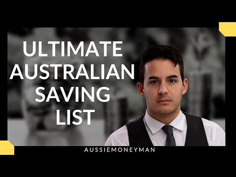 Ultimate Australian Saving Tips List