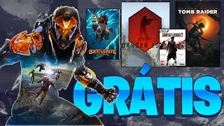 CORREEE!!! JOGOS GRATIS PC XBOX ONE E PS4 + Alpha Grátis do ANTHEM (Noticias PS4 Xbox PC)
