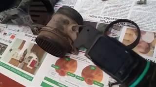 Чистка датчика массового расхода воздуха ВАЗ 2109 (Очистка ДМРВ)