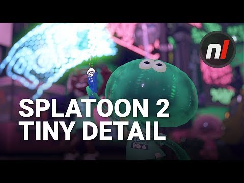 A Tiny, Insignificant Detail in Splatoon 2 that We Love