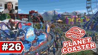 Oktoberfest Rummelplatz bauen - Planet Coaster Let's Play #26