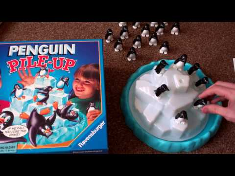 PENGUIN PILE UP! By RAVENSBURGER Children Kids Game Board UK Review