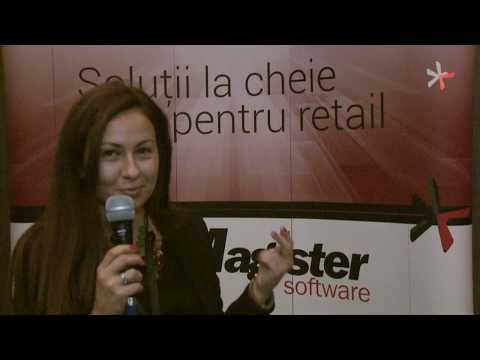 Implicare si prezenta in cadrul Conferintei Magister Software, Diana Ionescu, Specialist Marketing