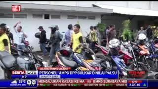 Massa AMPG Yorrys Bentrok dengan AMPG DPP Golkar