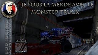 Gta 5 Online Je Fous La Merde Avec Le Monster Truck ☆[FaceCam]☆