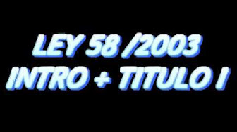 SIN TEXTO : LEY 58/2003 GENERAL TRIBUTARIA