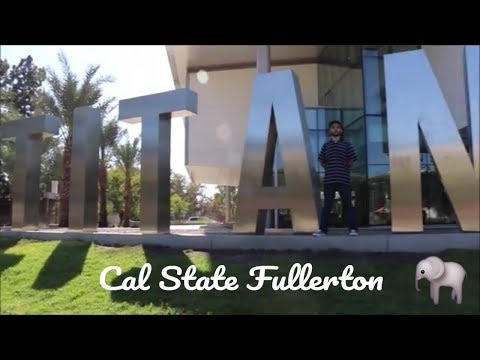 College Move In Day 2017 : Cal State Fullerton + Lunch TGI Fridays