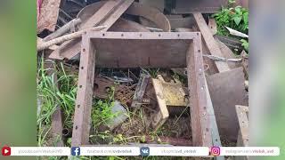 В Поставах украли 400 килограммов металлолома