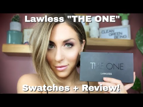 """Lawless """"The One""""  Eyeshadow Palette Swatches & Review (2019)!"""