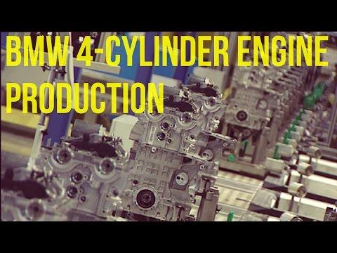 BMW 4-cylinder Petrol Engine with VALVETRONIC Production