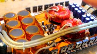 Amplifier repair Part 2 - Output section & Bench testing!