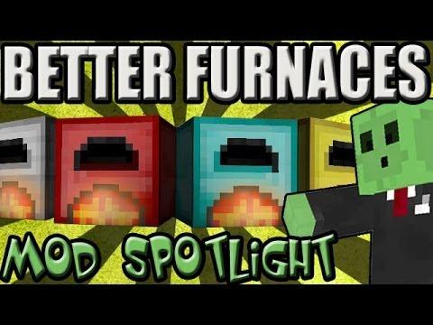 BETTER FURNACES - Minecraft Mod SpotLight [1.6.4] - YouTube