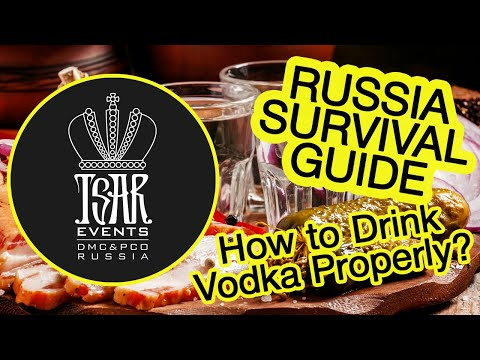 (Ep. 5) Tsar Events' RUSSIA SURVIVAL GUIDE: How to Drink Vodka