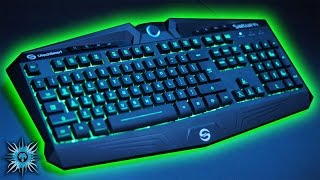 review best budget keyboard utechsmart saturn 7 colour backlit gaming keyboard