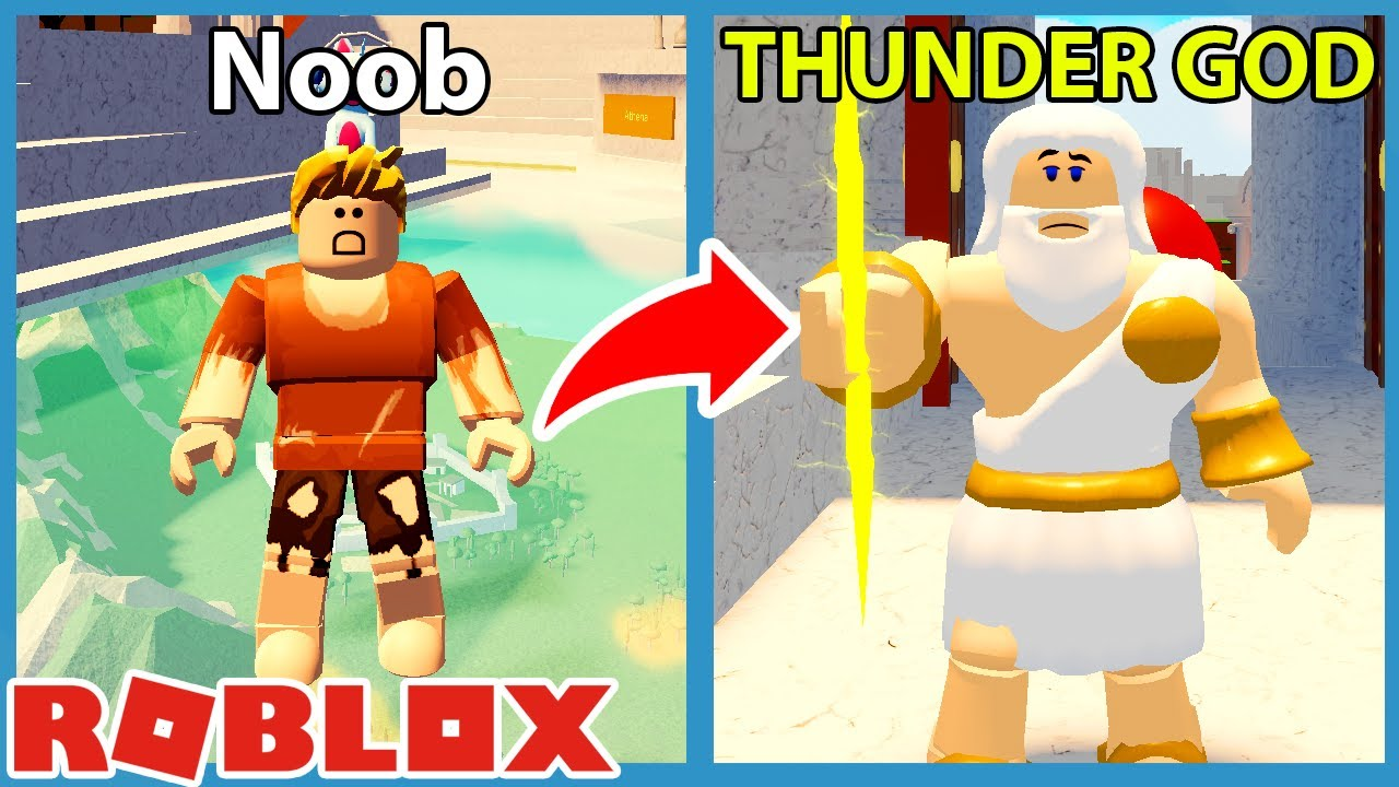 Download Noob VS Olympic Gods Tycoon