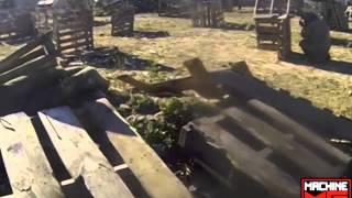 MACHINE MG GUN EN FRONTERA, COAHUILA