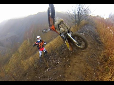 extreme enduro hillclimb with enduro boys - youtube