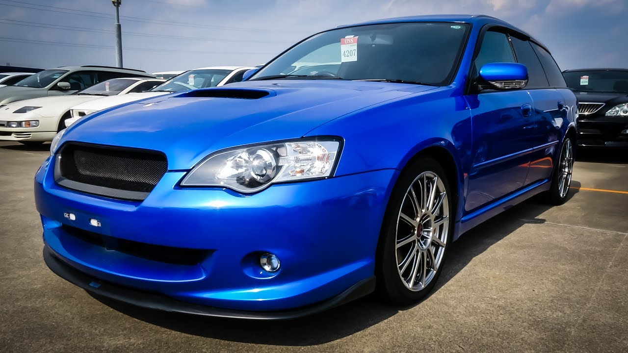 Japan Car Auction 2005 Subaru Legacy Touring Gt Spec B Sti