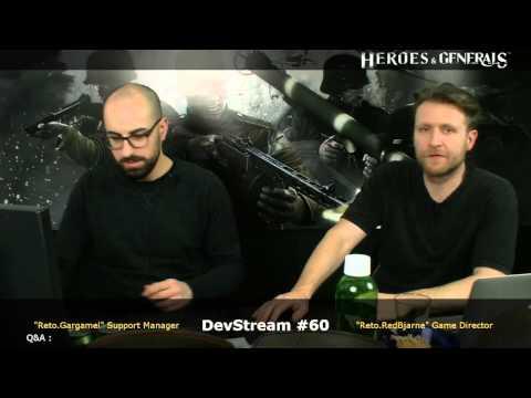 Heroes & Generals Devstream #60: Live from Copenhagen