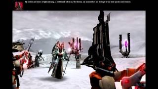 Warhammer 40,000: Winter Assault - Cutscene storyline part2/4