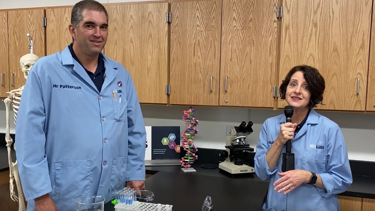 Homeschooling with Creation Museum Educational Programming Part 2:  High School Labs