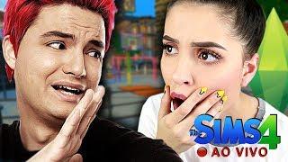 🔴 FELIPE NETO É O NOSSO NOVO CRUSH?! (The Sims 4 - Live #12)