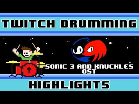 Sonic 3 and Knuckles OST (Drum Cover) -- The8BitDrummer