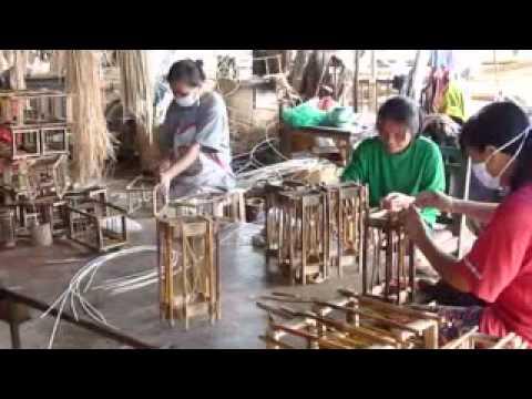 Les lampes en bambou et en bois asia zen shop youtube - Fabriquer un lampadaire en bois ...