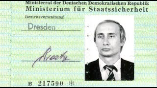 Дрезденский связной. Откуда у Путина удостоверение Штази?