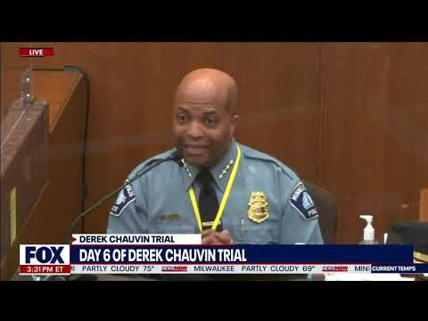 Chauvin Defense Takes On Police Chief Over Use of Force Policies For George Floyd