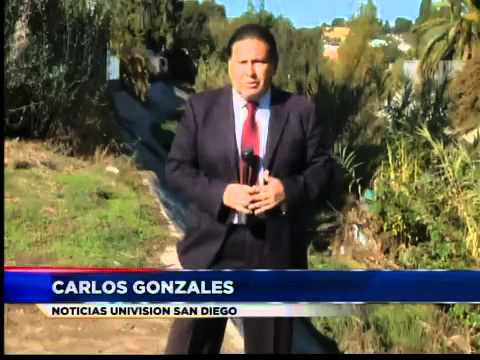 Comunidad en San Diego en peligro por el canal