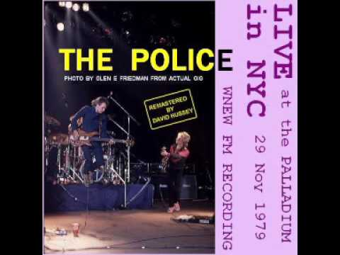 "The Police- New York, 29-11-1979, ""Palladium"" (Full Audio Show)"