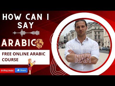 Arabic Dialects - DON'T Learn Modern Standard Arabic!
