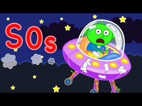Lion Family UFO The X-Files Cartoon for Kids