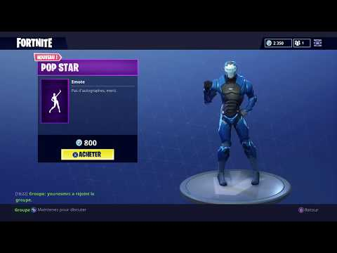 NEW DANCE POP STAR Fortnite Battle Royale