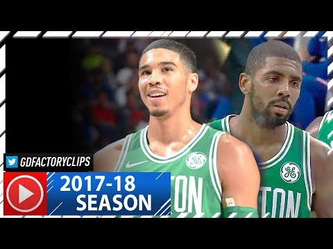 Kyrie Irving & Jayson Tatum Full Highlights vs Sixers (2017.10.20) - 21 FOR Kyrie!