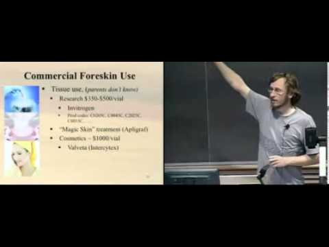 FAMOUS BIO-PHYSICIST GIVES COMPREHENSIVE LECTURE ON CIRCUMCISION (VERY GRAPHIC)